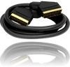 24k Gold Plated 21 Pins RGB Scart Cable