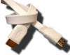 White Flat HDMi Cable