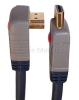90 Degree Angled Gold HDMI Cable