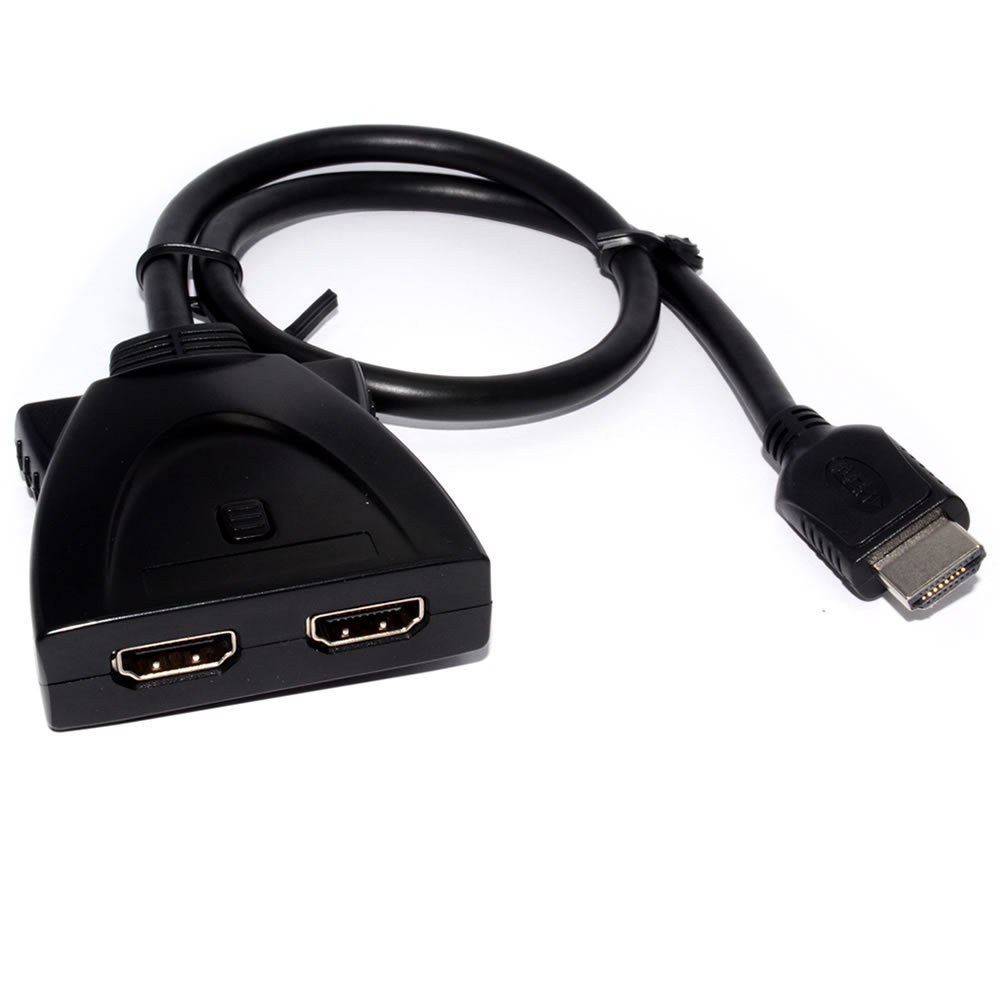 2 Way Auto HDMI Switcher Cable