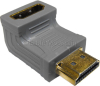 Gold Right Angled 90 Degree HDMI Adaptor