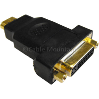 Gold Plated DVI-D (Female) to HDMI (Male) Adapter