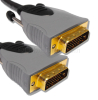 Premium DVI-D to DVI-D Dual Link Gold Plated Cable