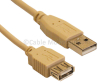 USB 2.0 Female to USB Male Extension Cable - 2 Metre