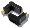 Gold Plated HDMI Swivel Adaptor - Female to Male