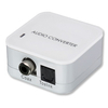 Lindy 70411 Switchable Digital Optical Toslink or SPDIF Coaxial Audio Converter
