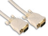 White SVGA Cable with Gold Connections - 2 Metres